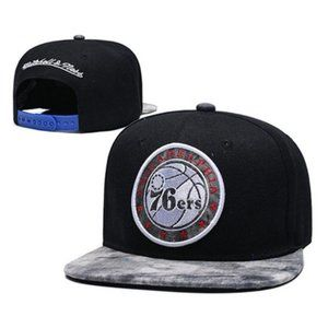 Philadelphia 76ers Snapback Hat Adjustable Cap